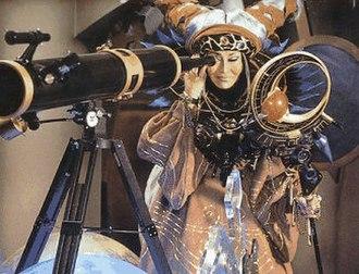 Machiko Soga - Soga as Bandora in Kyōryū Sentai Zyuranger of the Super Sentai Series. Scenes of her character were redubbed in English and used as Rita Repulsa for Mighty Morphin Power Rangers