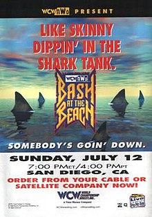 Image result for wcw bash at the beach 1998
