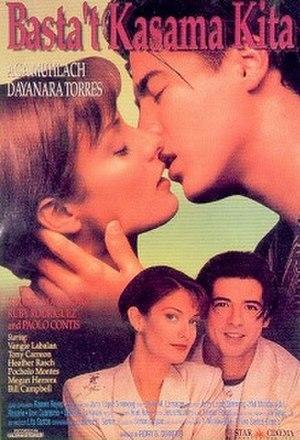 Basta't Kasama Kita (film) - Theatrical release poster