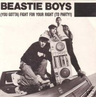 (You Gotta) Fight for Your Right (To Party!) - Image: Beastie Boys YGFFYRTP