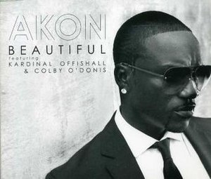 Beautiful (Akon song) - Image: Beautiful (Akon song)