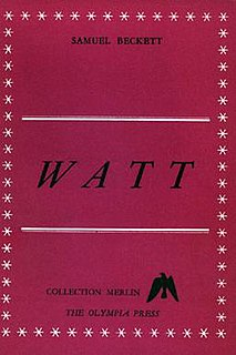 <i>Watt</i> (novel) book by Samuel Beckett