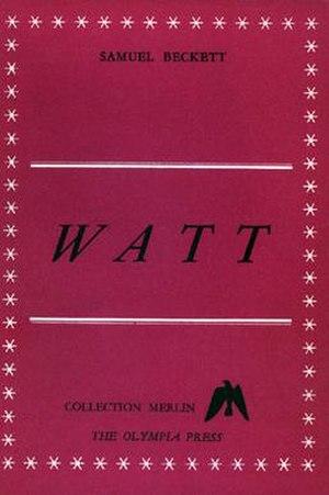 Watt (novel) - 1953 Olympia Press edition