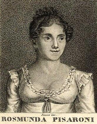La donna del lago - Contralto Benedetta Rosmunda Pisaroni, the first Malcolm