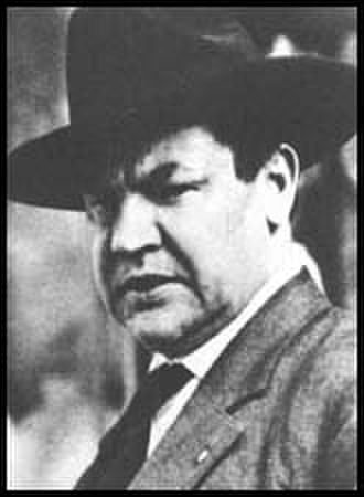 Colorado Labor Wars - Big Bill Haywood, the powerful Secretary Treasurer of the Western Federation of Miners.