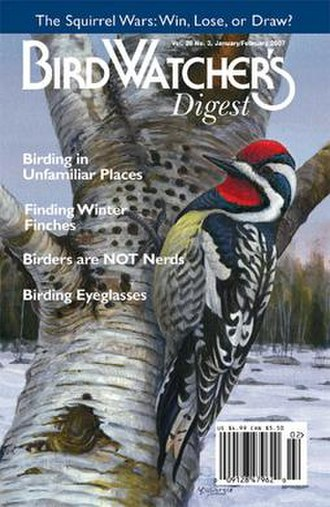 Bird Watcher's Digest - Example of a magazine cover