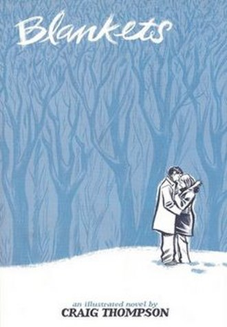 Blankets (comics) - Cover art by Craig Thompson.