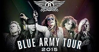Blue Army Tour - Image: Blue Army Tour