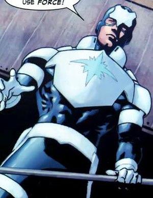 Blue Shield (comics) - Image: Blue shield