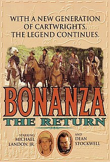 <i>Bonanza: The Return</i> 1993 television film directed by Jerry Jameson