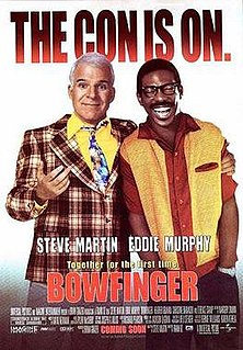 <i>Bowfinger</i> 1999 American comedy film directed by Frank Oz
