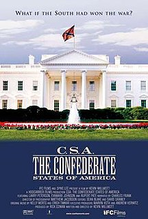 <i>C.S.A.: The Confederate States of America</i> 2004 mockumentary directed by Kevin Willmott