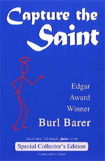 <i>Capture the Saint</i> book by Burl Barer