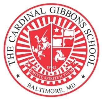 Cardinal Gibbons School (Baltimore, Maryland) - Image: Cardinal Gibbons logo