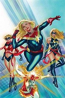 Carol Danvers Formally Ms. Marvel of the Avengers