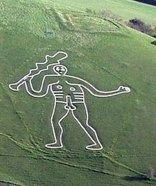Cerne Abbas Giant Hill Figure