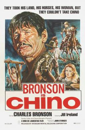 Chino (1973 film) - Theatrical release poster