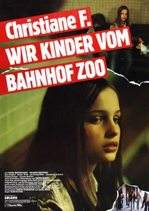 Christiane F. – We Children from Bahnhof Zoo - Image: Christiane F Poster