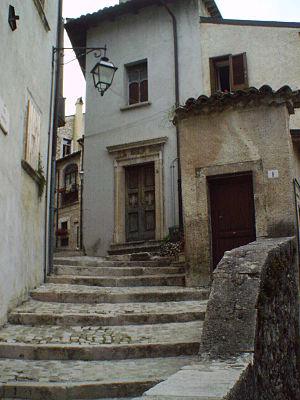 Barrea - Image: Church of the Purgatory