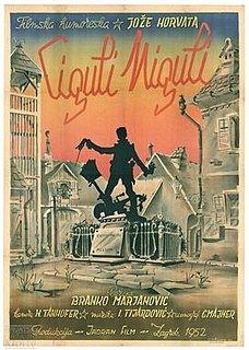 <i>Ciguli Miguli</i> 1952 film by Branko Marjanović