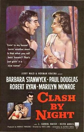 Clash by Night - Theatrical release poster