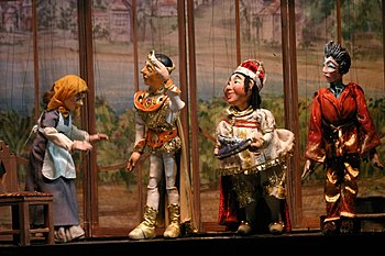 Marionettes from the Swedish Cottage Marionett...