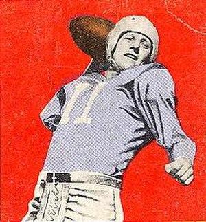 Clyde LeForce - LeForce on a 1948 Leaf Gum Co. trading card