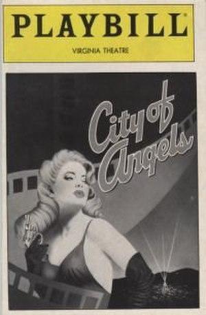 City of Angels (musical) - Original Broadway Playbill