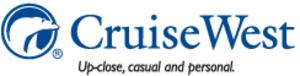 Cruise West - Image: Cruise West logo