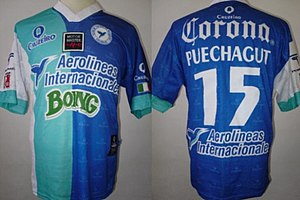 Colibríes de Morelos - Jersey worn by Claudio Puechagut during the 2002–2003 tournament