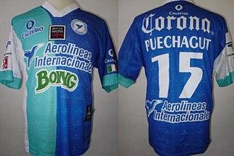 Colibríes de Morelos - Jersey worn by Claudio Puechagut during the 2002–2003 tournament