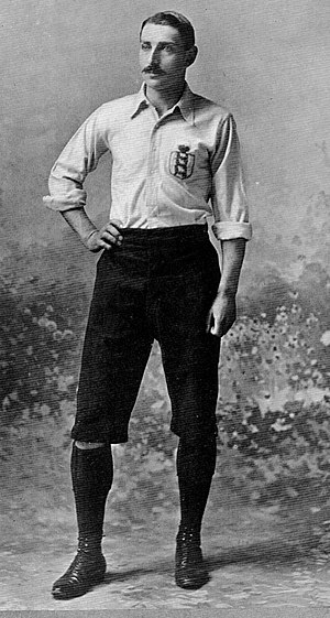 R. Cunliffe Gosling - England captain Cunliffe Gosling.