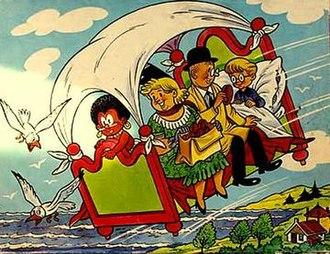 Dutch comics - Image: De Avonturen van Pa Pinkelman