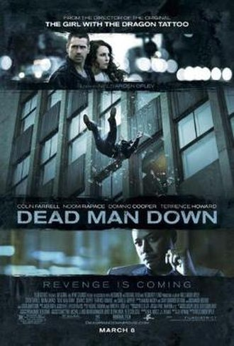 Dead Man Down - Theatrical release poster