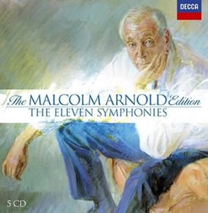 Symphony No. 1 (Arnold) - Decca collection of Malcolm Arnold's Symphonies Nos 1 to 9 plus the Symphony for Brass and the Symphony for Strings