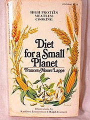 Diet for a Small Planet (Frances Moore Lappé book) cover.jpg