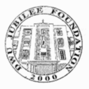 Divine Word University of Tacloban - Image: Divine Word University Jubilee Foundation logo