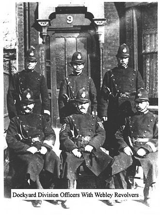 History of the Ministry of Defence Police - Dockyard Police Division 1904