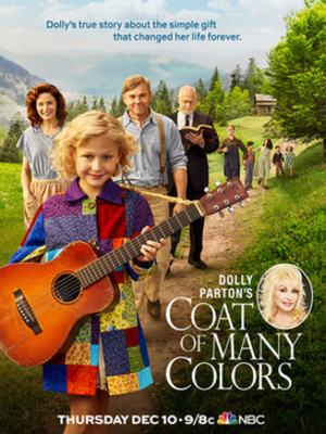 Dolly Parton's Coat of Many Colors - Promotional poster