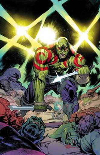 Drax the Destroyer - Image: Drax cover