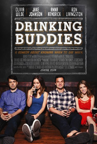 Drinking Buddies - Theatrical release poster