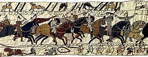 Companions of William the Conqueror - Image: Duke William At Hastings