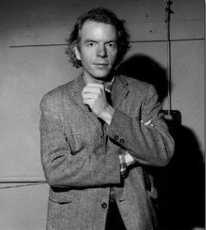 Spalding Gray - At the Performing Garage (1979–81). Photograph by Gary Schoichet