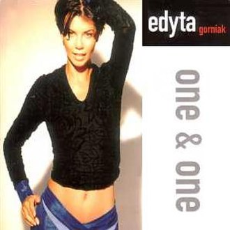 One and One (song) - Image: Edyta Gorniak One and One CD cover