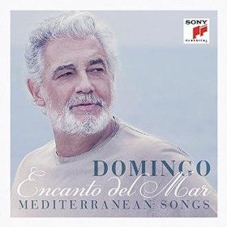 Encanto del Mar - Image: Encanto del Mar (Plácido Domingo album)