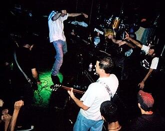 Enewetak (band) - Enewetak performing at the Showcase in Riverside