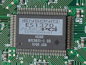 Ensoniq AudioPCI - Ensoniq ES1370 AudioPCI