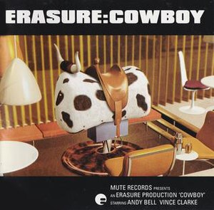 Cowboy (album) - Image: Erasure Cowboy album cover