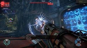 Evolve (video game) - Image: Evolve hunter gameplay