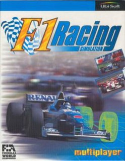 <i>F1 Racing Simulation</i> 1997 video game
